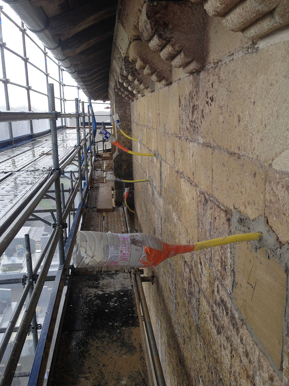 chantier abbaye lahonce 1