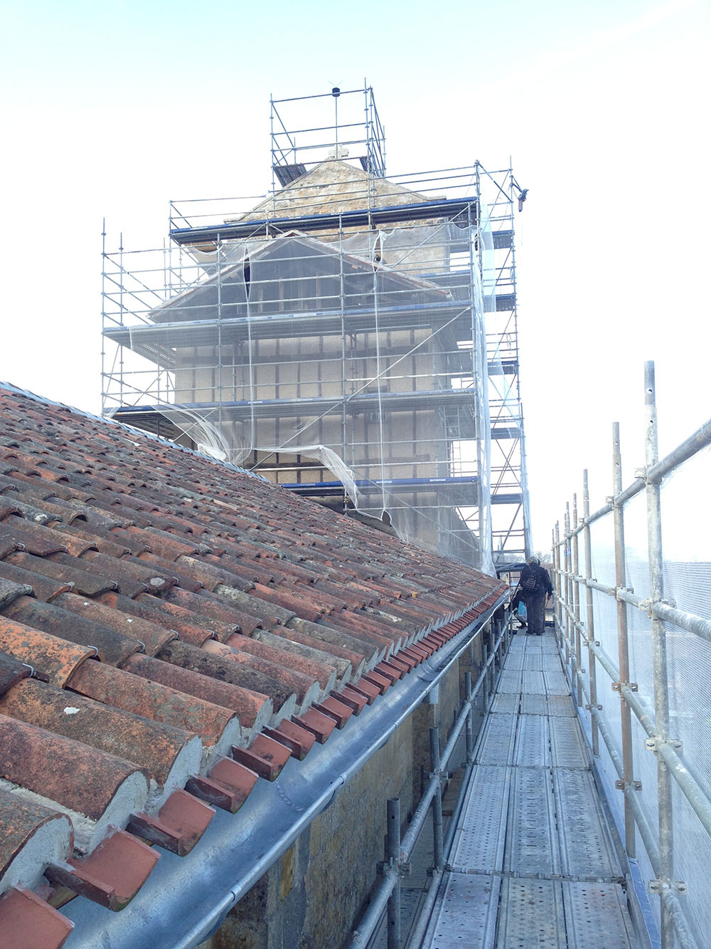 chantier abbaye lahonce 2