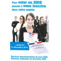 Inscription listes électorales 2014-2015